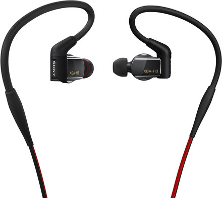 Sony sluchátka XBA-H3 černá