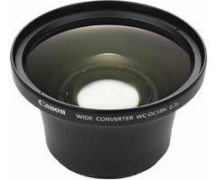 Canon širokoúhlá předsádka WC-DC58N