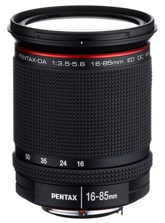 Pentax DA 16-85mm f/3,5-5,6 ED DC WR