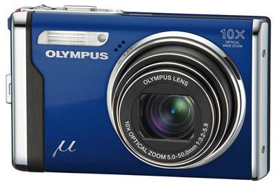 Olympus Mju 9000 modrý