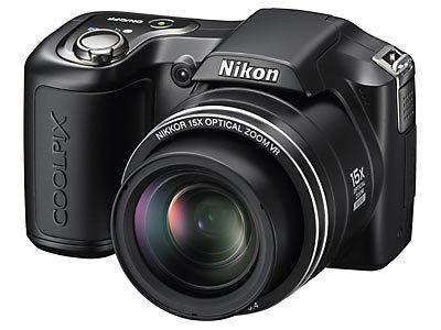 Nikon CoolPix L100 černý + SD 4GB karta + brašna DFV36 zdarma!