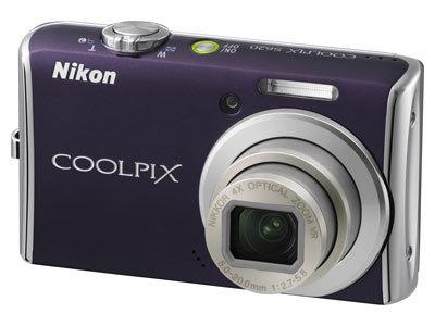 Nikon CoolPix S620 fialový