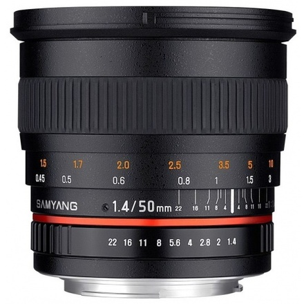 Samyang 50mm f/1,4 pro Pentax