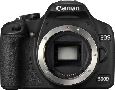 Canon EOS 500D tělo + kniha o 500D + vyukové DVD EOS zdarma! + fotokniha zdarma!