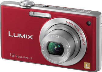 Panasonic Lumix DMC-FX40 červený