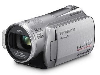 Panasonic HDC-SD20 stříbrná + brašna DFV40 zdarma!