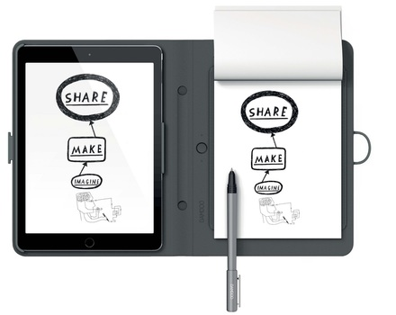 Wacom Bamboo Spark snap-fit iPad Air