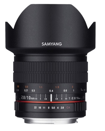 Samyang 10mm f/2,8 ED AS NCS CS pro Nikon AE