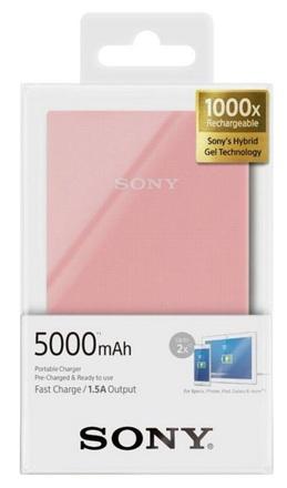 Sony externí baterie a USB nabíječka CP-V5A 5000 mAh