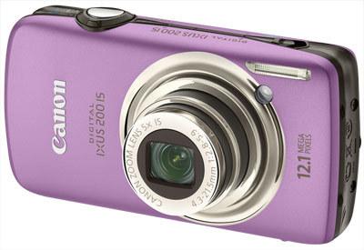 Canon IXUS 200 IS fialový