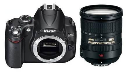 Nikon D5000 + 18-200mm VR