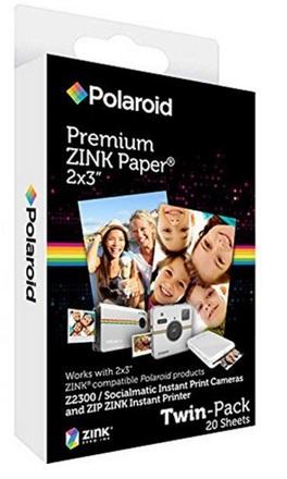 """Polaroid fotopapír ZINK 2x3"""" - 20ks"""