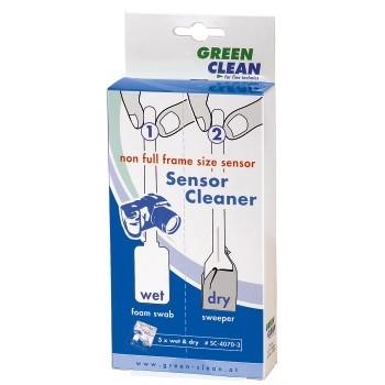 Green Clean 1x3 čistící sada - mokré + suché čištění pro full frame snímače