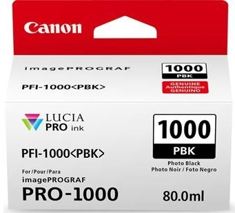Canon Cartridge PFI-1000 PBK Photo černá