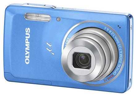 Olympus Mju 5010 modrý
