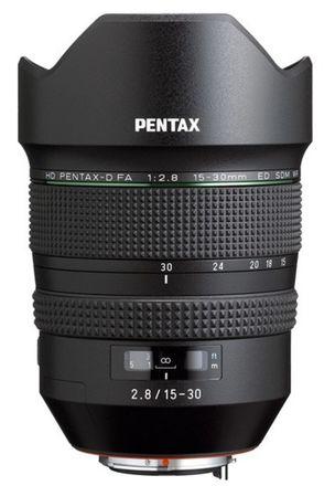 Pentax D FA 15-30mm f/2,8 ED SDM WR
