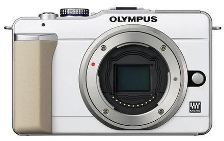 Olympus E-PL1 bílý tělo
