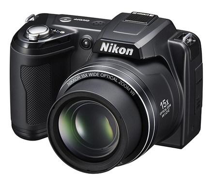 Nikon Coolpix L110 černý + 8GB karta zdarma!