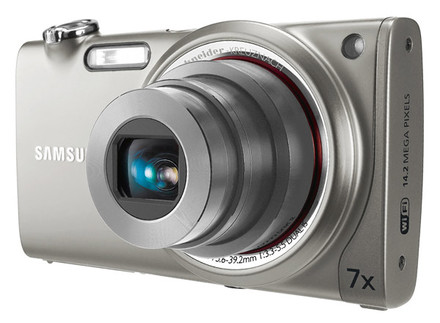 Samsung ST5500 stříbrný