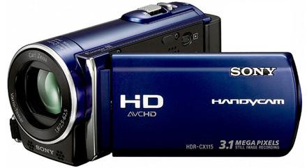 Sony HDR-CX115 modrá + 16GB karta zdarma!