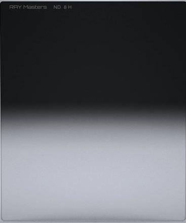 Ray Masters 84x100mm ND 8 filtr 0,9 tvrdý