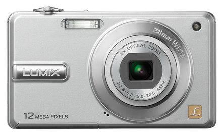 Panasonic Lumix DMC-F3 stříbrný + SD 2GB karta + pouzdro Fancy DF11!