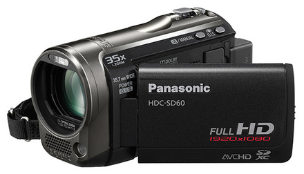 Panasonic HDC-SD60 černá