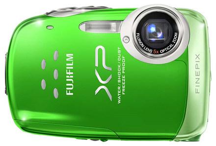 Fuji FinePix XP10 zelený