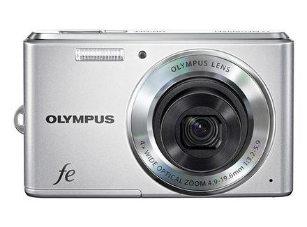 Olympus FE-4050 stříbrný
