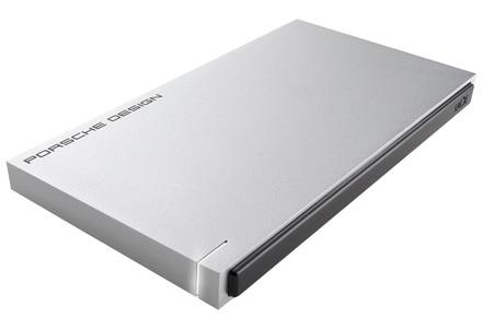 "LaCie Porsche Design Slim 250GB SSD, 2.5"" USB 3.0, hliníkový, světle šedý"