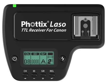 Phottix Laso TTL Flash Trigger Receiver pro Canon