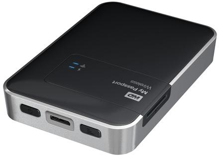 """Western Digital My Passport Wireless 2TB, 2.5"""" USB 3.0, černý"""