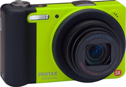 Pentax Optio RZ10 zelený