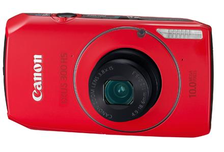 Canon IXUS 300 HS červený