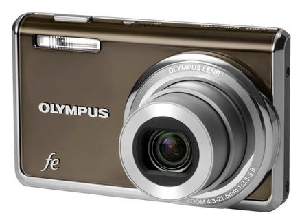 Olympus FE-5035 šedý