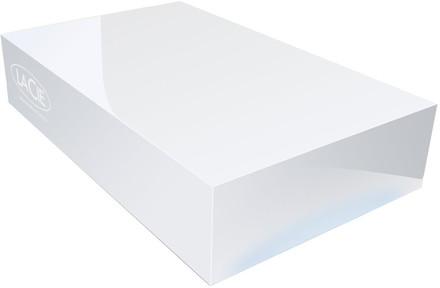 "LaCie CloudBox 4TB HDD, 3.5"" síťový, bílý"