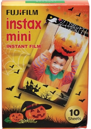 Fujifilm Instax mini colorfilm Helloween