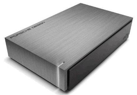 """LaCie Porsche Design Desktop 3TB HDD, 3.5"""" USB 3.0, hliníkový,"""