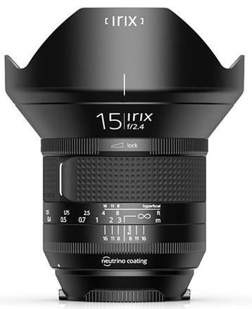 IRIX 15mm f/2,4 verze Firefly pro Canon