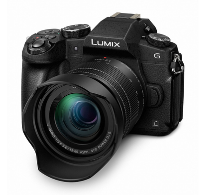 Panasonic Lumix DMC-G80 + 12-60 mm + 45-200 mm