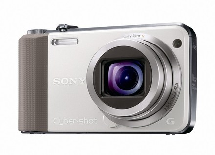 Sony CyberShot DSC-HX7 bílý + nahradní akumulátor zdarma!