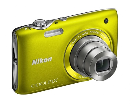 Nikon Coolpix S3100 žlutý