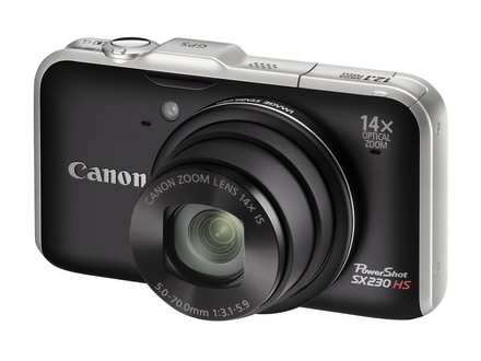 Canon PowerShot SX230 HS černý + 8GB karta + pouzdro Pampas!
