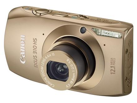 Canon IXUS 310 HS zlatý