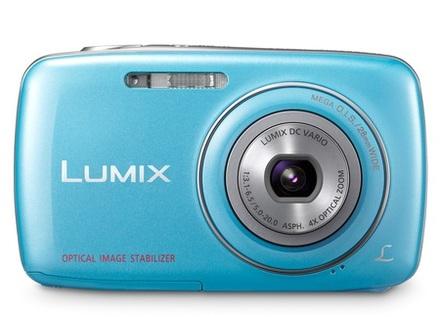 Panasonic Lumix DMC-S1 modrý