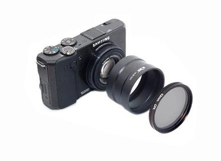 JJC adaptér na filtr LA-52LX5 pro LX5