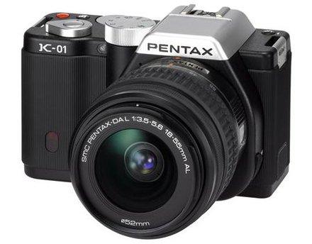 Pentax K-01 + 18-55 mm