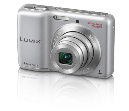 Panasonic Lumix DMC-LS6 stříbrný