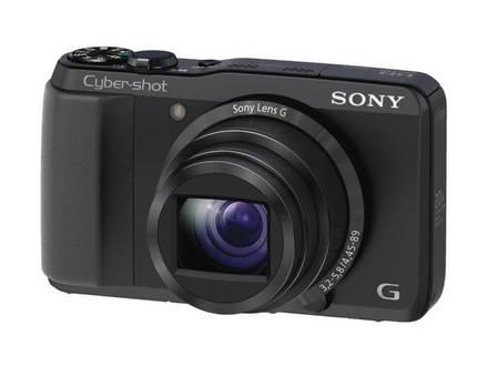 Sony CyberShot DSC-HX20V černý + 16GB karta + pouzdro Ridge 30!