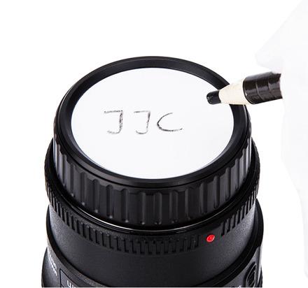 JJC popisovatelná zadní krytka objektivu pro Canon EF a EF-S